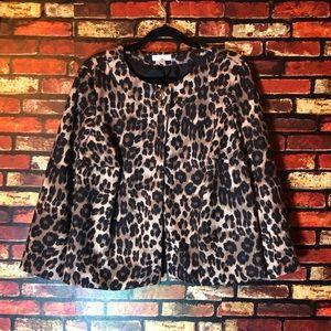 2/$25🌺0X (14/16) Charter Club Cheetah Jacket